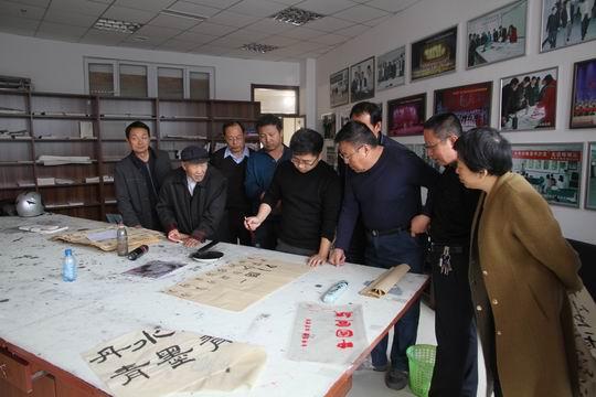 著名书法家杨家伟在喀喇沁书画文学院举办书法研修班