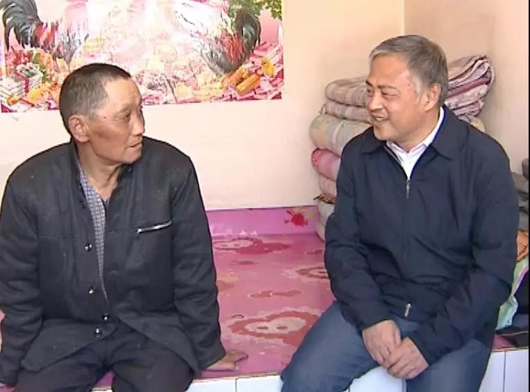 旗委书记高希华调研脱贫攻坚工作