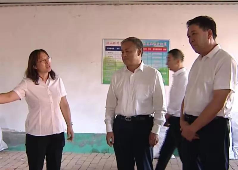 旗委书记高希华到南台子乡调研人居环境整治工作