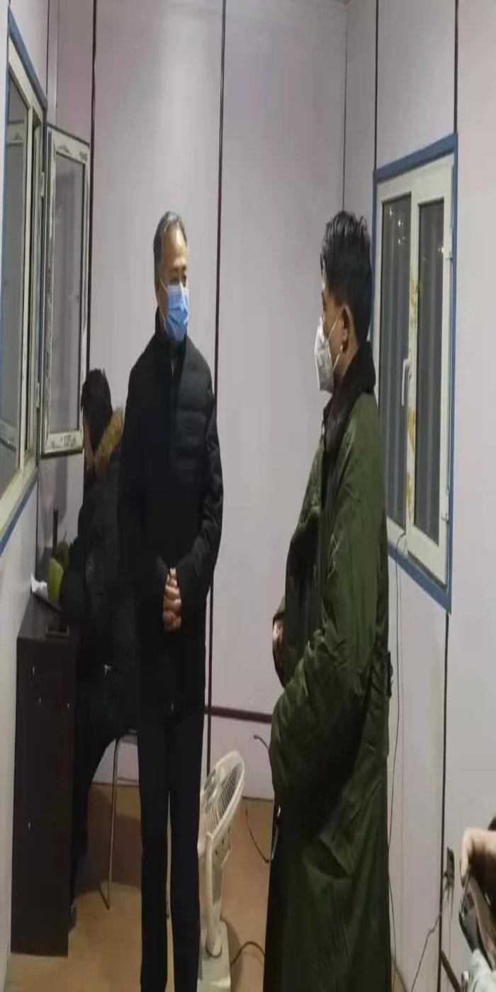 【众志成城 抗击疫情】旗委书记高希华到牛家营子镇检查指导疫情防控工作