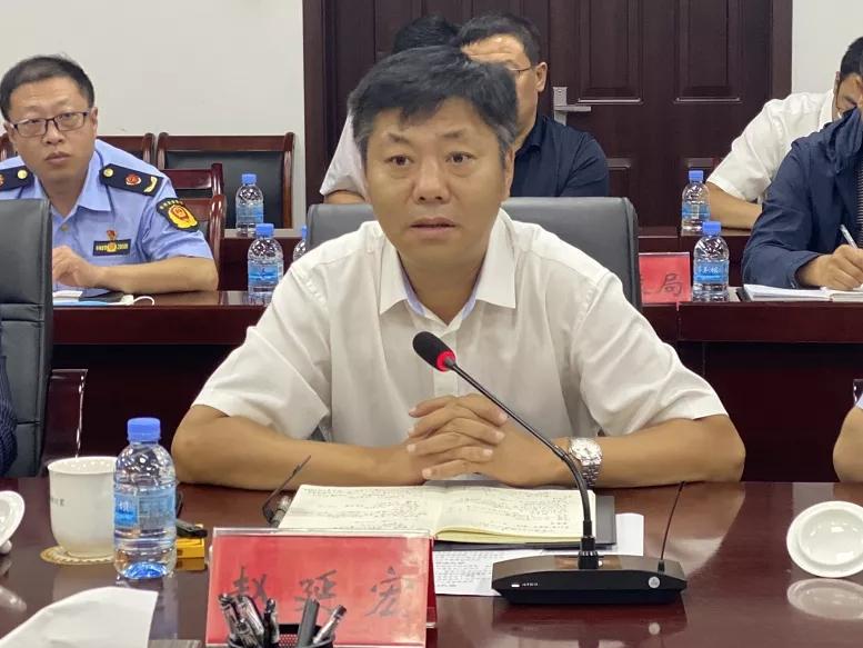赵延宏安排部署全旗石灰石矿山综合整治 十家新型建材产业园区规划建设等工作
